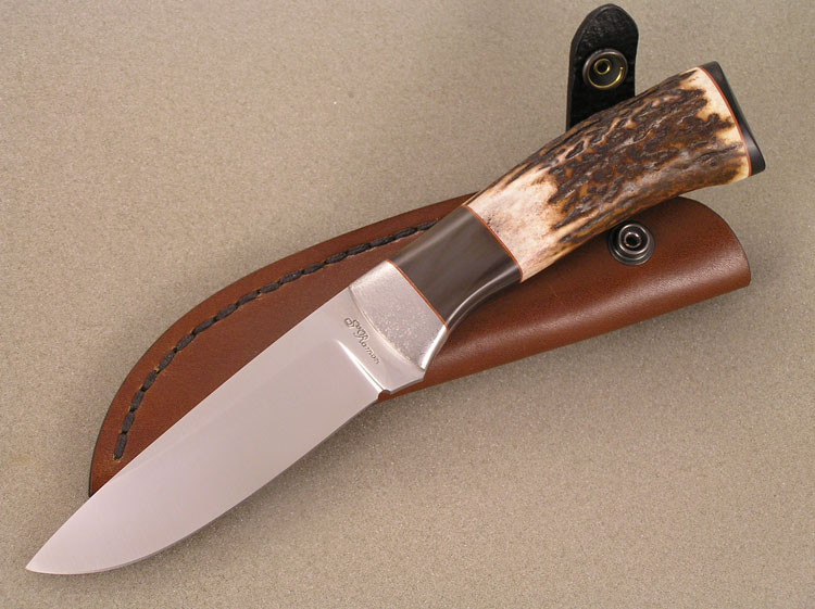 Fixed blade in acciaio RWL 34
