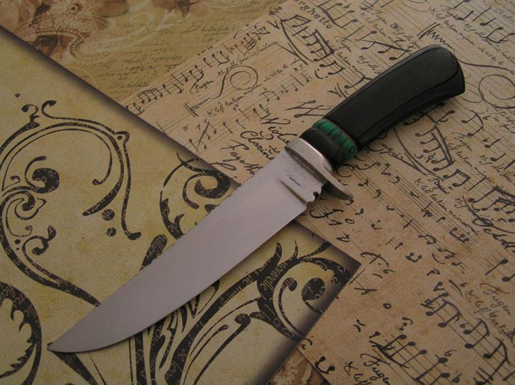 Fixed blade in RWL 34 lucida dorso lavorato a lima