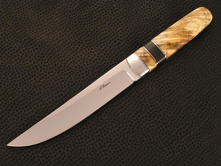 Fixed blade in acciaio RWL 34 inox